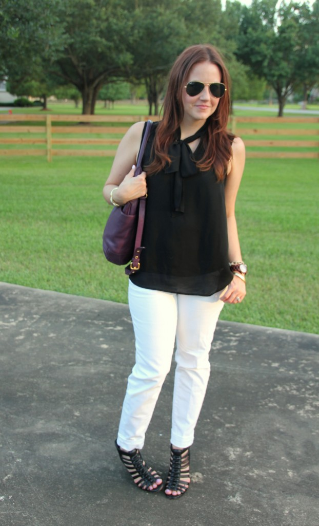 Casual Summer Outfit | Lady in Violet