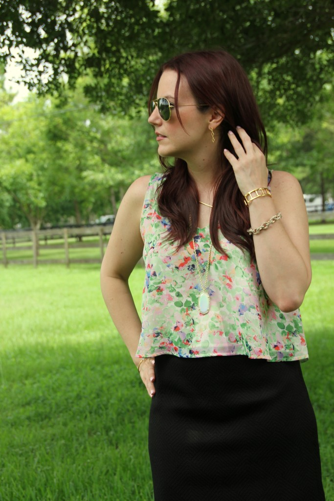 Summer Work Outfit | Lady in Violet