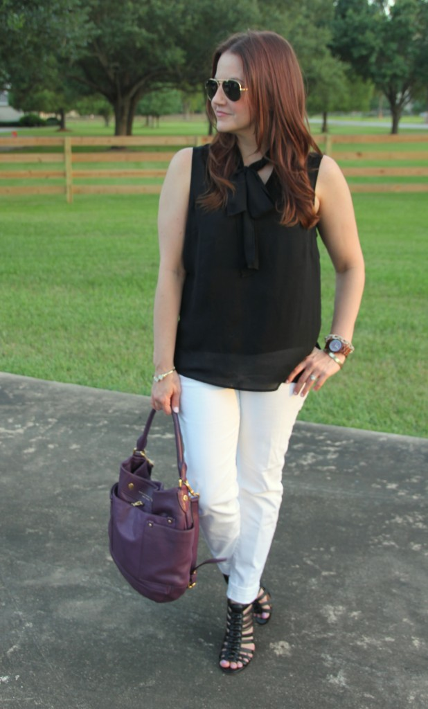 Casual Weekend Look | Lady in Violet