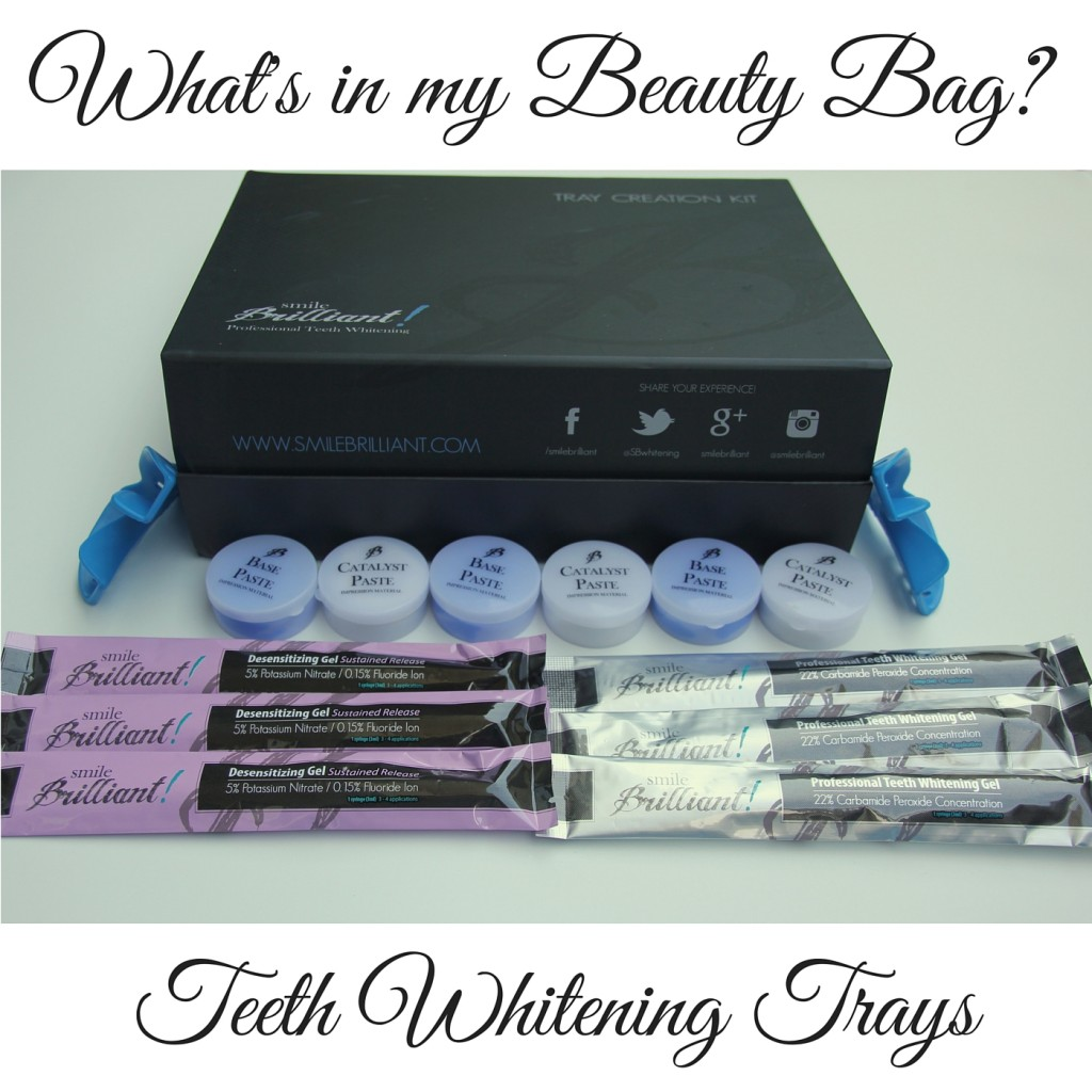 What's in my Beauty Bag? Teeth Whitening Trays