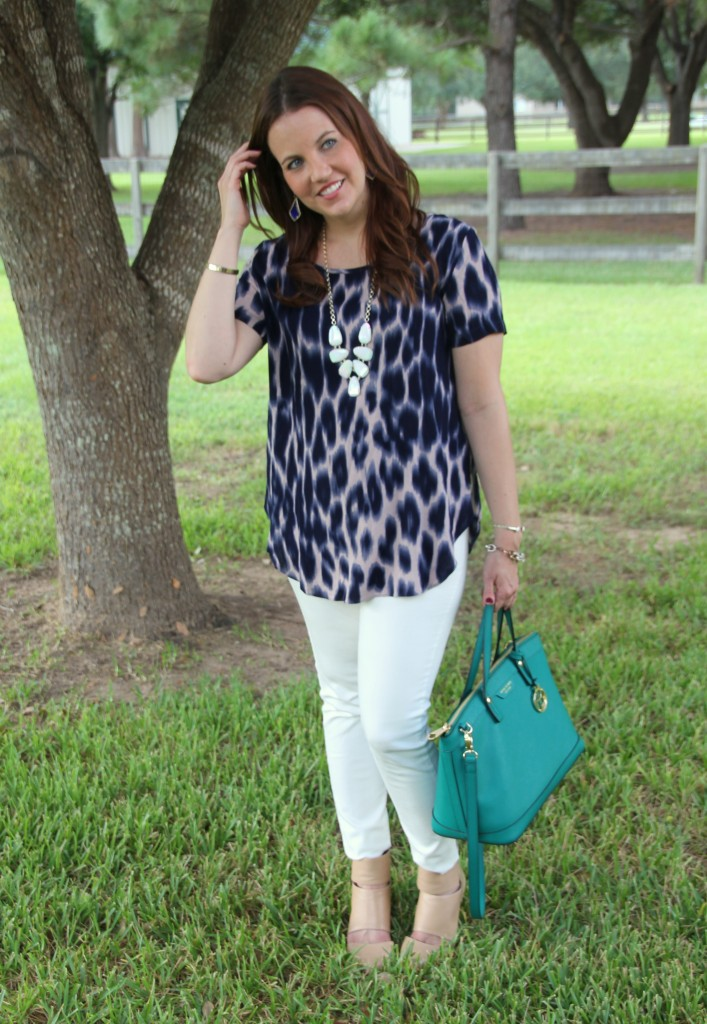 Dressed Up Casual Outfit for Spring and Summer | Lady in Violet