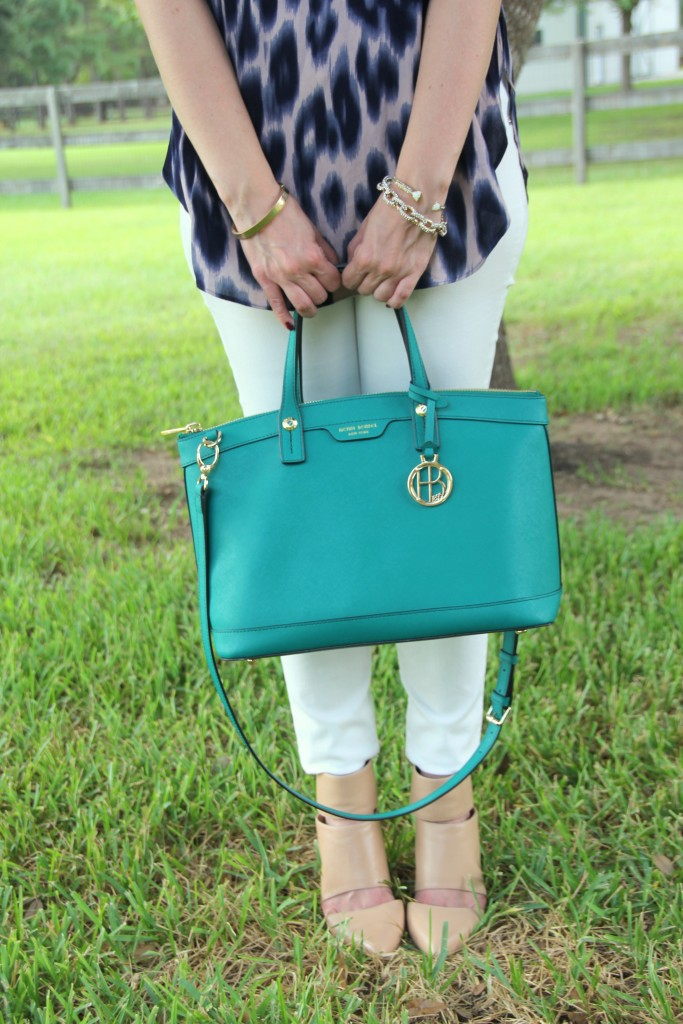 Henri Bendel Satchel and Sole Society Shoes | Lady in Violet