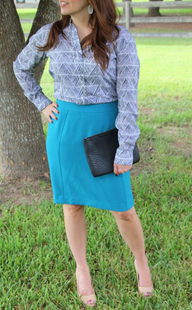 Office Outfit | Lady in Violet