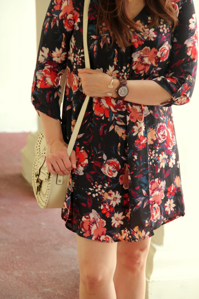 Lush Floral Dress | Lady in Violet