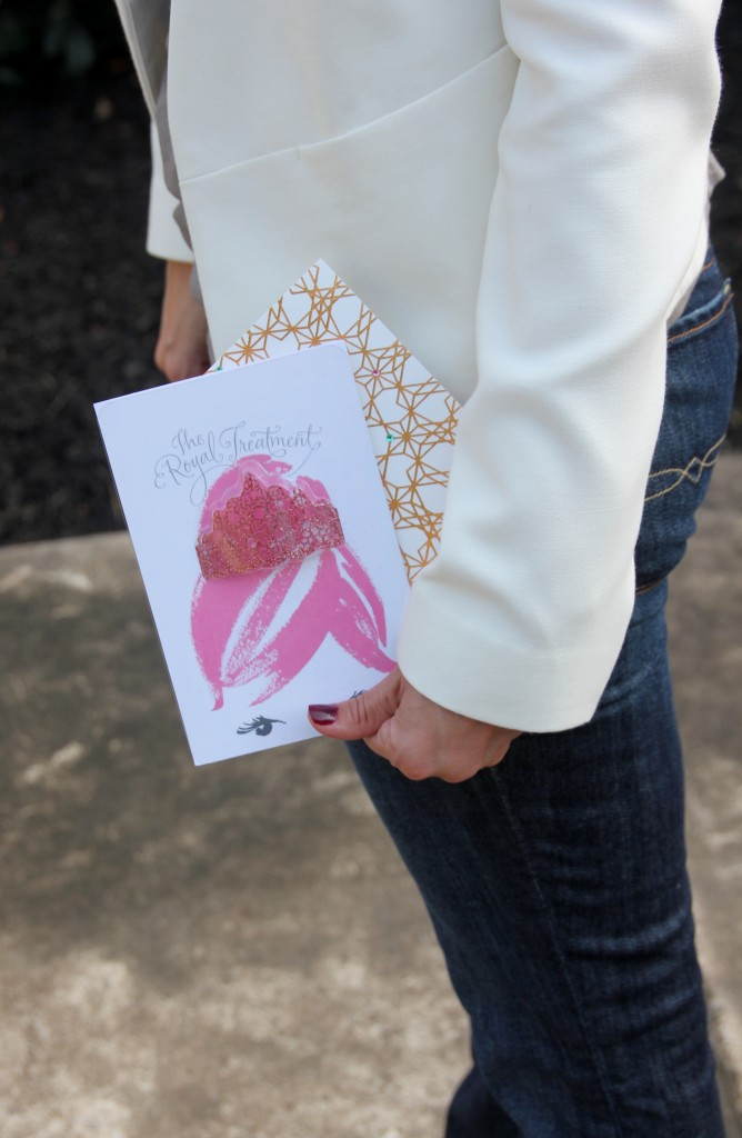 Hallmark Signature Greeting Cards | Lady in Violet #signaturestyle