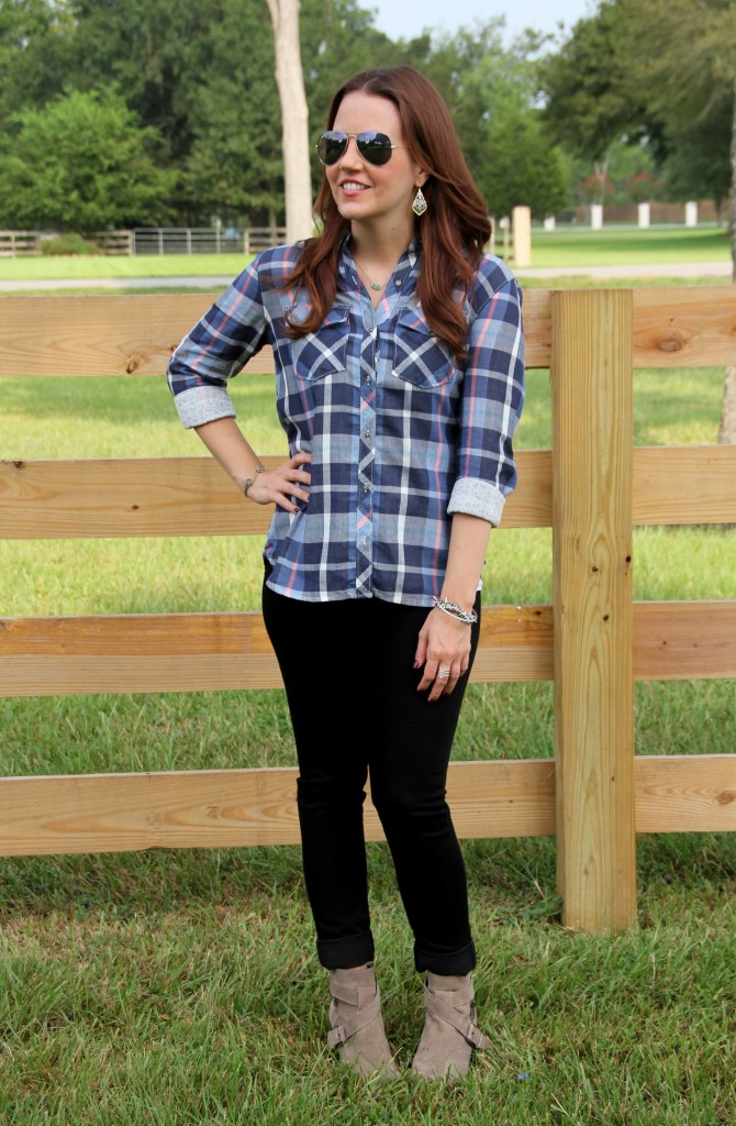 How to Style Plaid for Fall | Lady in Violet
