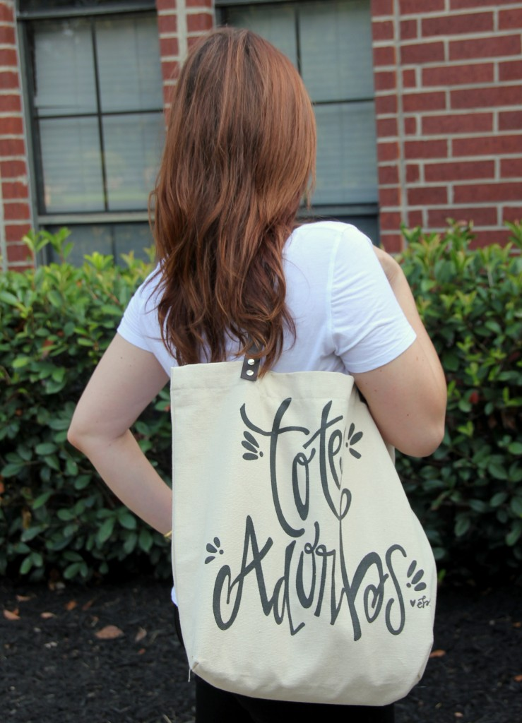 Totes Adorbs Tote Bag | Lady in Violet