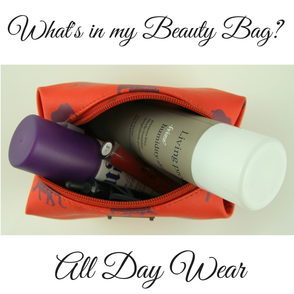 What's in my Beauty Bag? All Day Wear Makeup Review | Lady in Violet