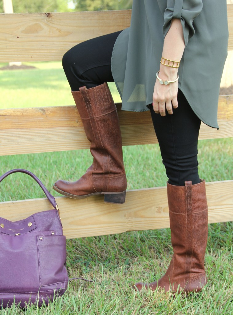 Lucky Brand Brown Riding Boots | Lady in Violet