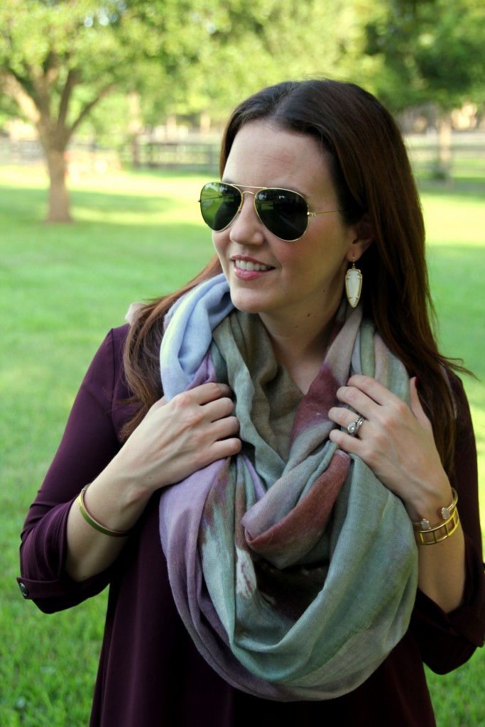 How to Wear Scarves | Lady in Violet