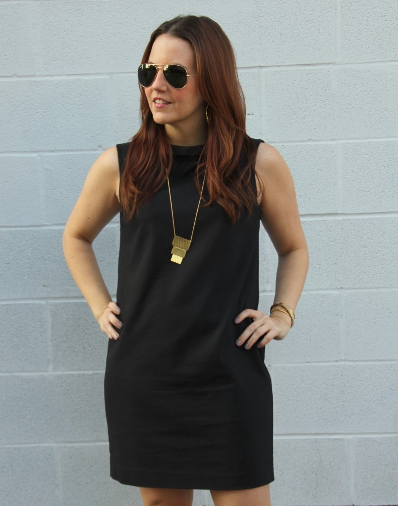 How to Style a Black Dress   Lady in Violet