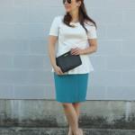 Peplum Tops & Pencil Skirts