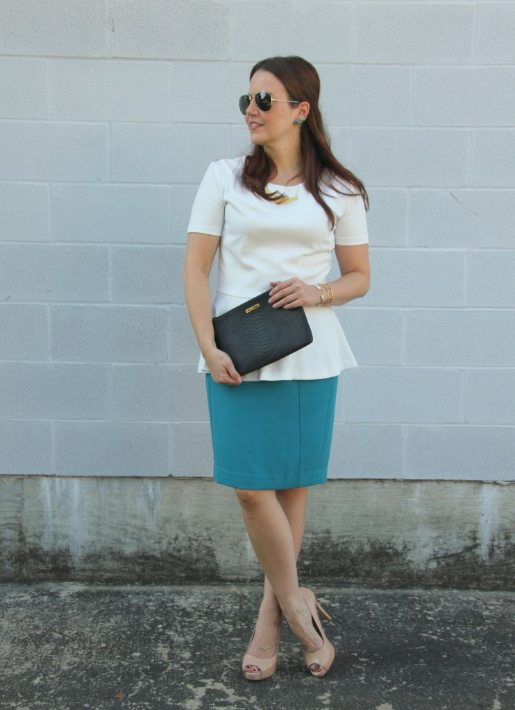 What I Wore to Work | Lady in Violet