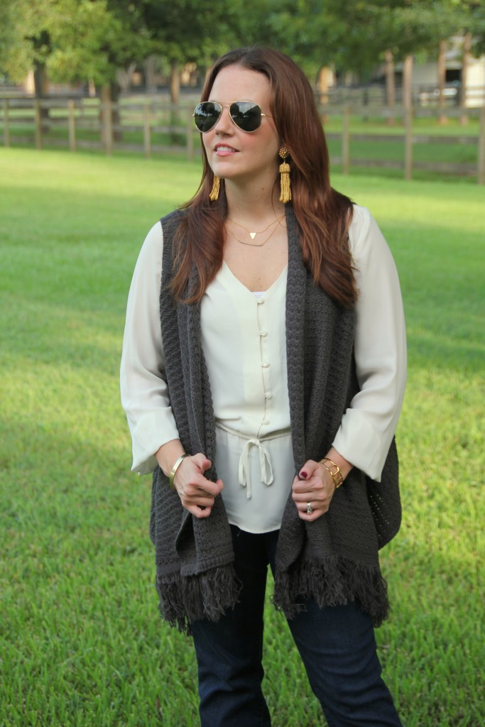Tips on Layering a fall outfit | Lady in Violet
