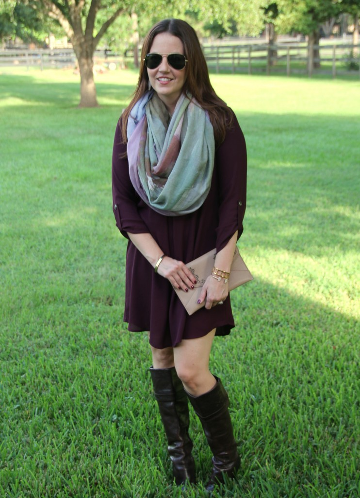 Earth Toned Outfit for Fall   Lady in Violet