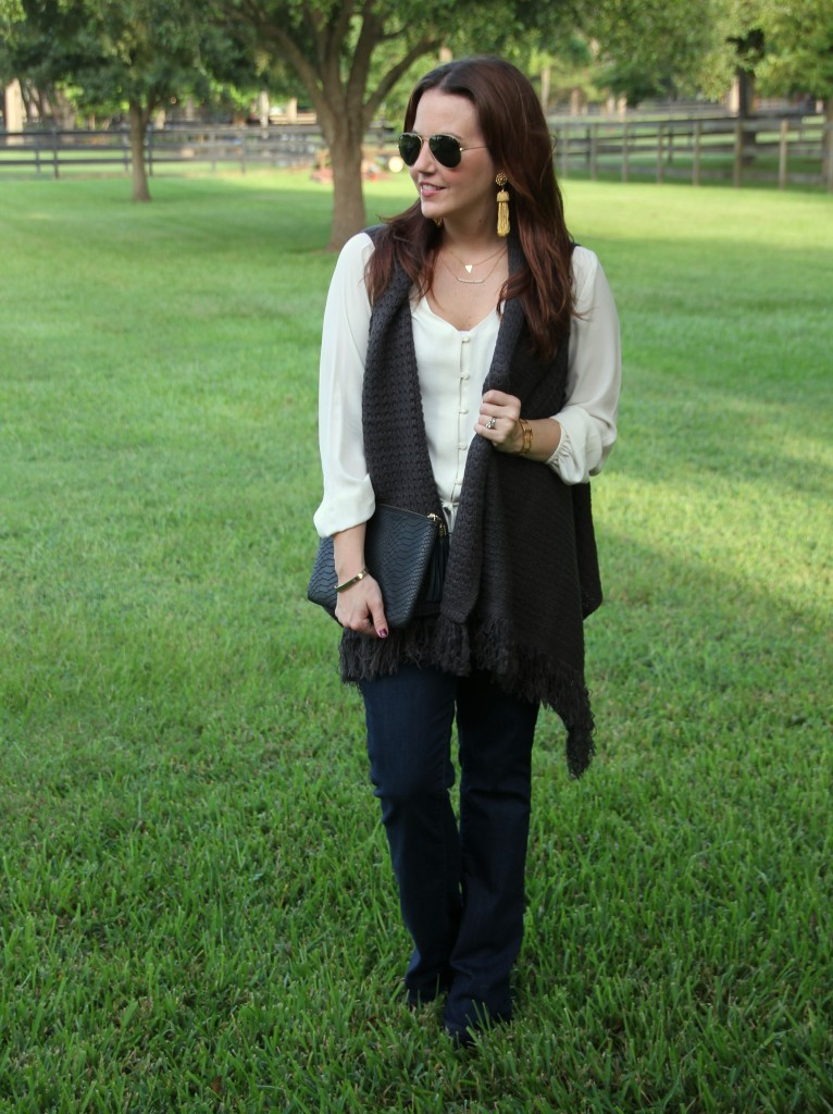 Weekend Outfit in Fall Layers | Lady in Violet