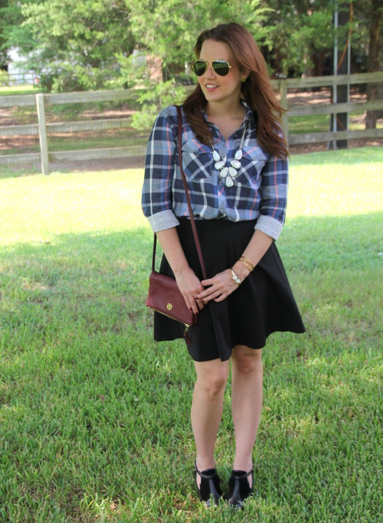 Cute Casual Work Outfit | Lady in Violet