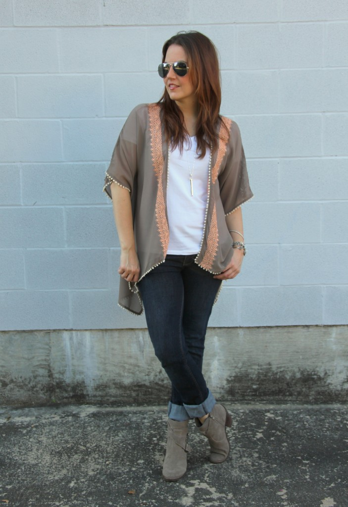 Fall Weekend Outfit | Lady in Violet