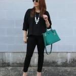 A Classic Black Outfit