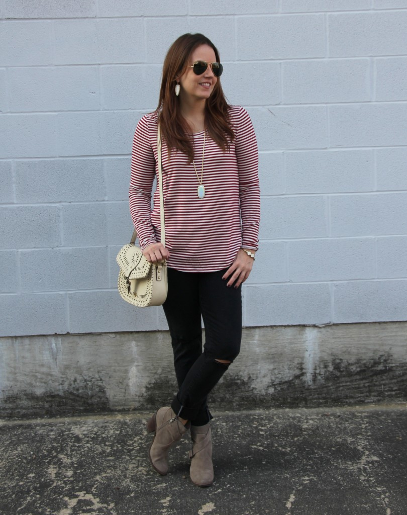 Fall Casual Weekend Outfit | Lady in Violet