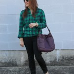Flannel Shirts & Patent Flats
