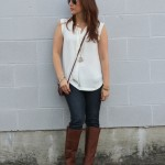Riding Boots & Layering Tops