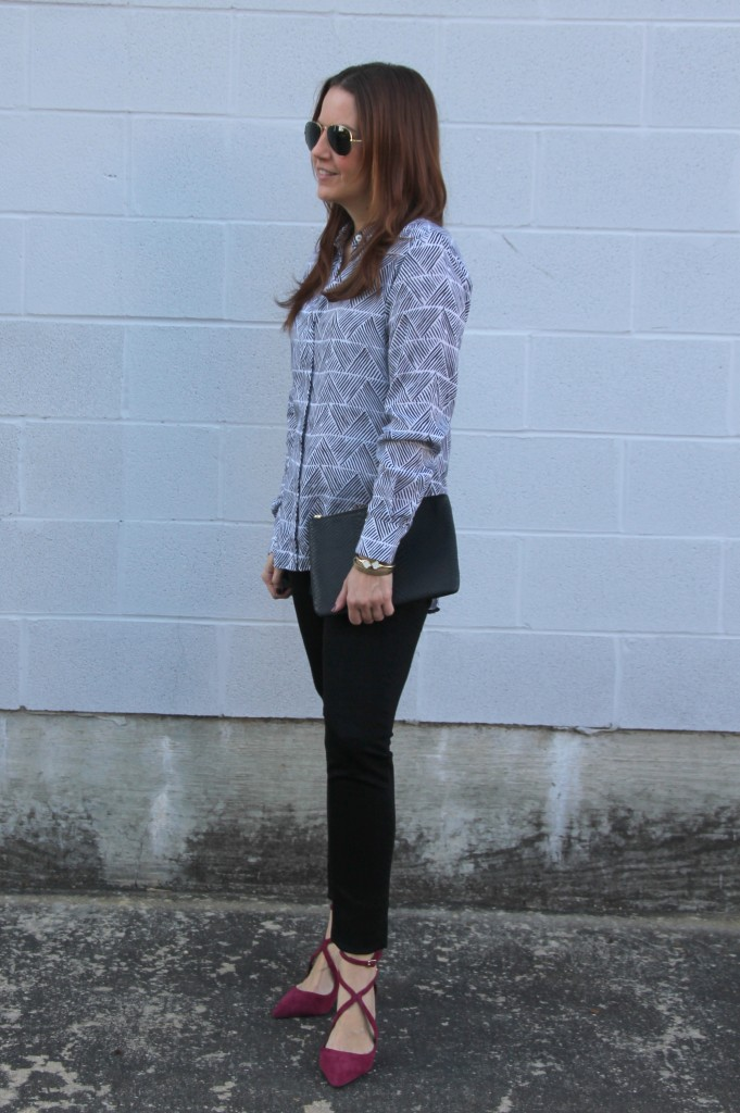 How to Wear Colored Pumps | Lady in Violet