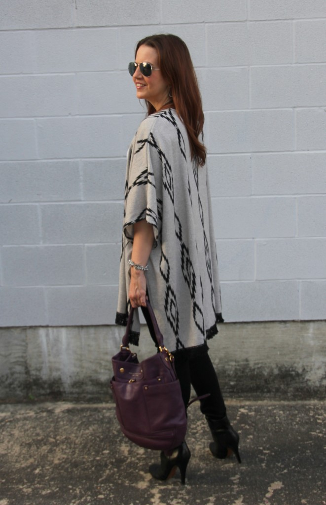Fall Fashion - Ponchos | Lady in Violet