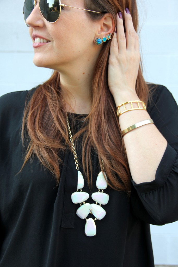 Kendra Scott Jewelry and Baublebar Bracelets | Lady in Violet
