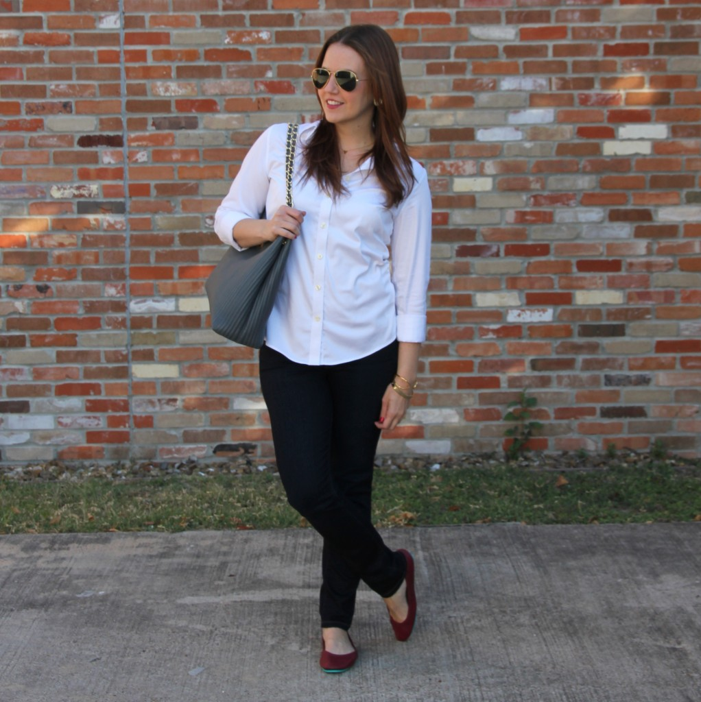 Dressed Up Casual outfit | Lady in Violet