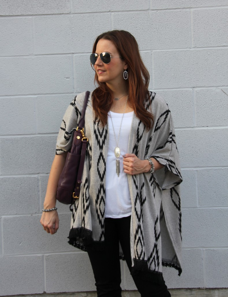 Fall Outfit Idea for Casual Weekend Look | Lady in Violet
