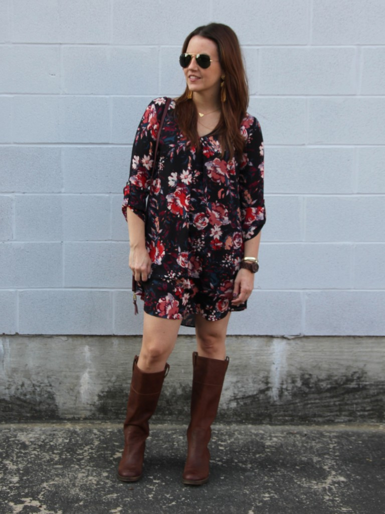Boho Chic Outfit Idea for Fall | Lady in Violet