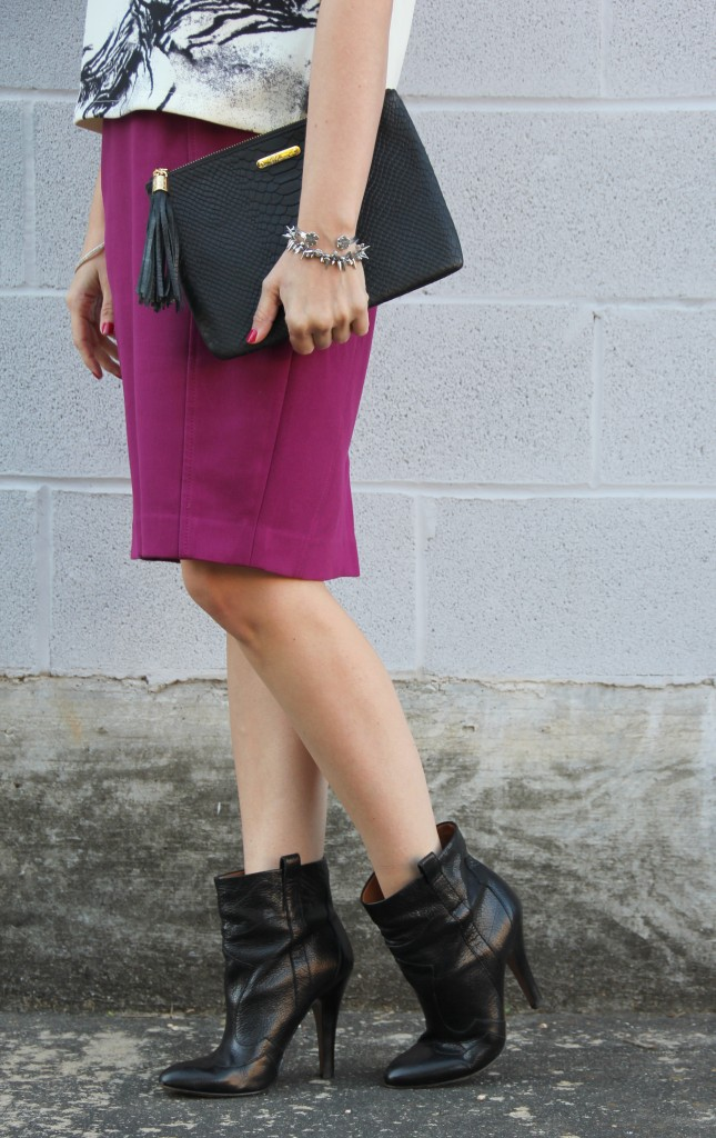 Nine West Black Booties | Lady in Violet