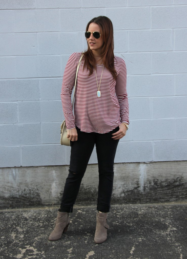 Fall Weekend Outfit Idea | Lady in Violet