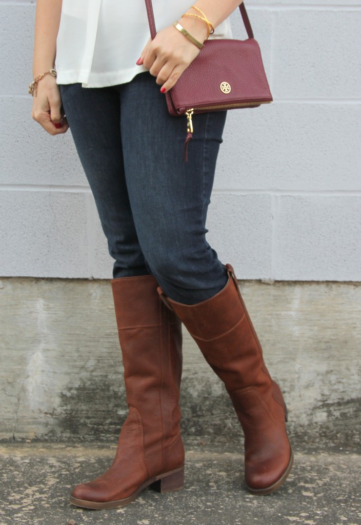 Brown Riding Boots | Lady in Violet
