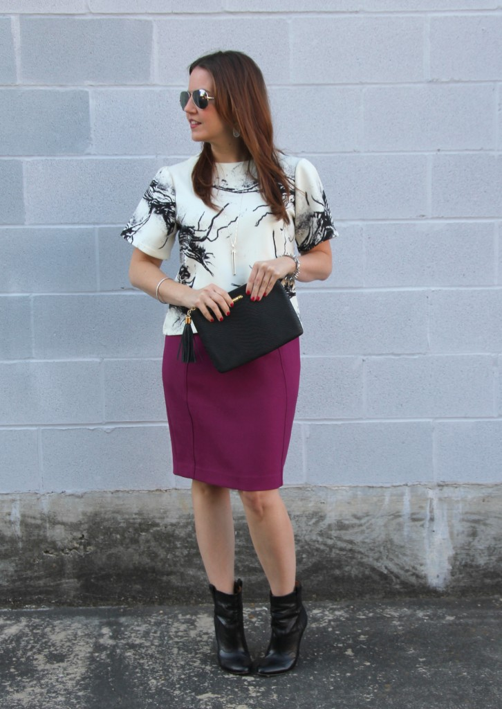 Office Outfit Inspiration | Lady in Violet