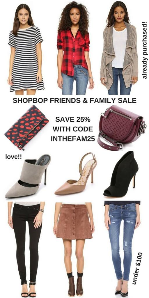 Shopbop Friends & Family Sale | Lady in Violet