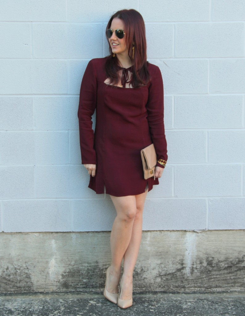 Holiday Dress + #REVOLVExSU2C - Lady in VioletLady in Violet