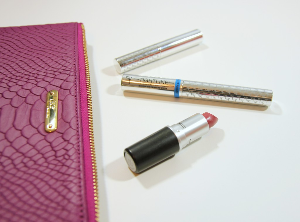 Mac Lipstick and It Cosmetics Tightline Review   Lady in Violet