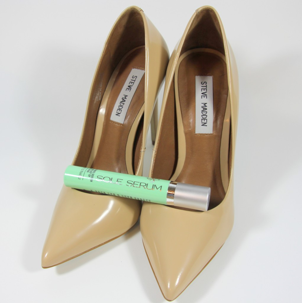 Sole Serum and Steve Madden Proto Heels   Lady in Violet