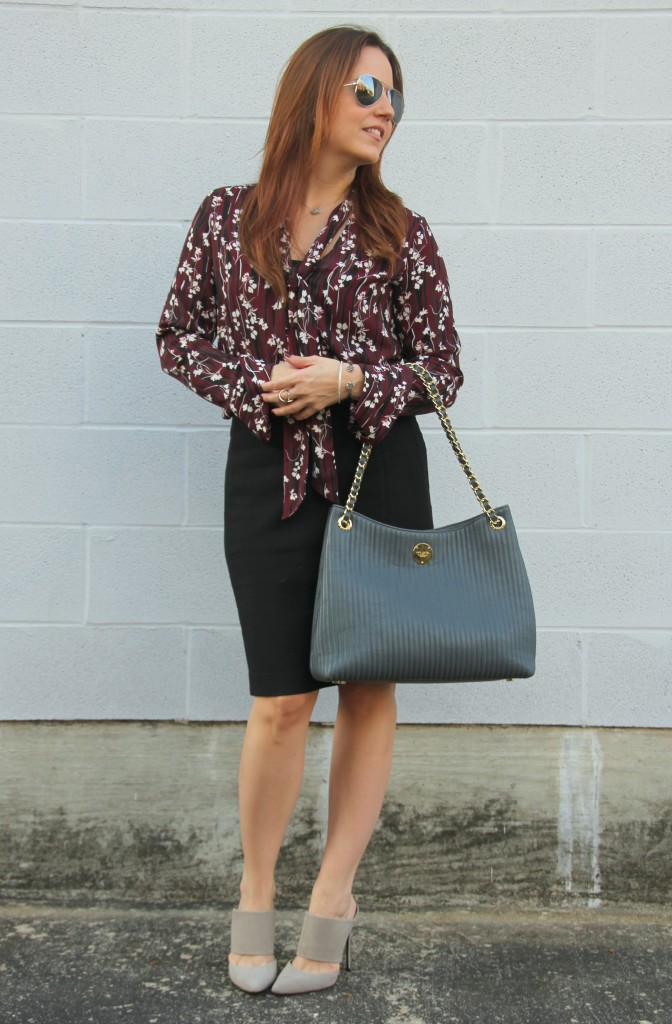 Office Outfit Inspiration   Lady in Violet