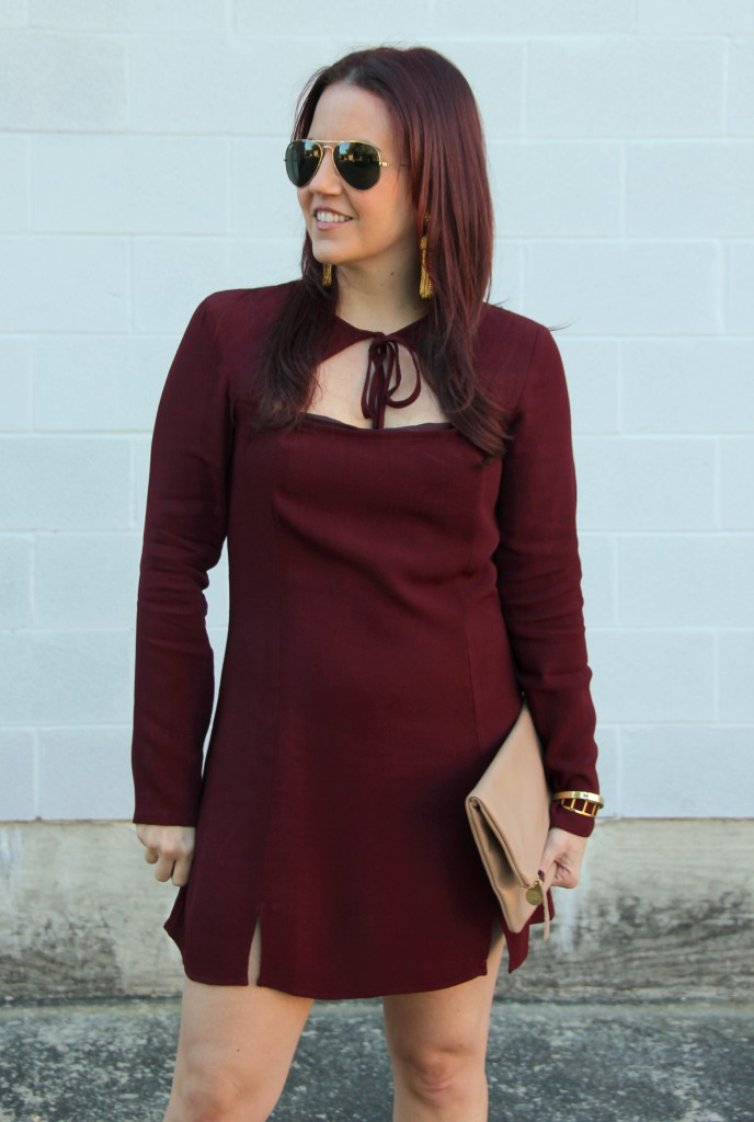 Holiday Dress from Revolve Clothing | Lady in Violet