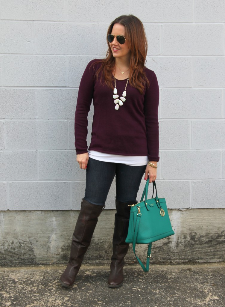 Weekend Casual Outfit Idea | Lady in Violet