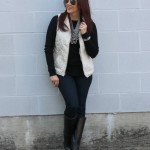 Quilted Vest & Riding Boots
