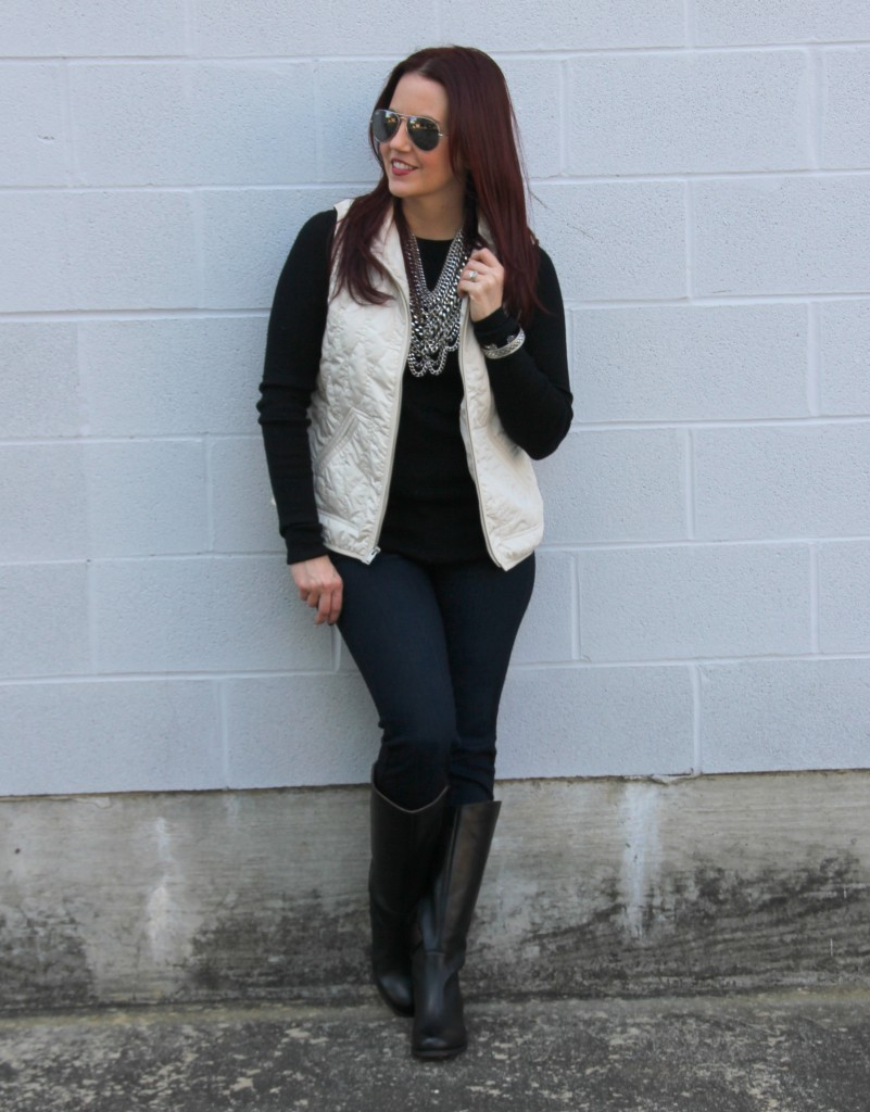 Winter Outfit Idea   Lady in Violet