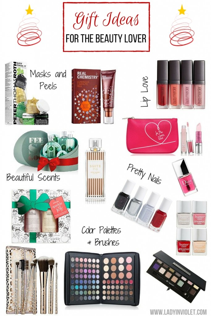 Christmas Gift Ideas for Beauty Lovers | Lady in Violet