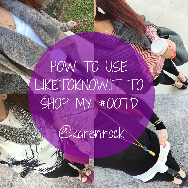 How to Use LiketoKnow.it to shop my #ootd | Lady in Violet