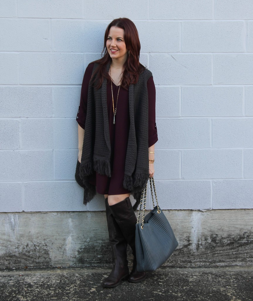 Casual Weekend Outfit for Fall | Lady in Violet