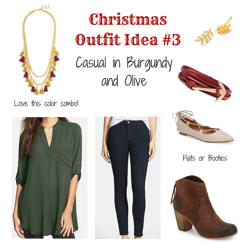 What to Wear on Christmas Day - Casual Outfit | Lady in Violet