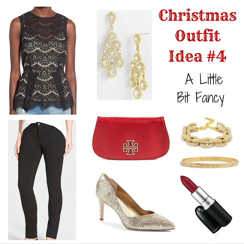 What to Wear on Christmas Day - Dressed up Outfit | Lady in Violet